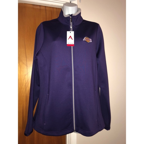 NWT Antigua Lakers Jacket L 601a50784